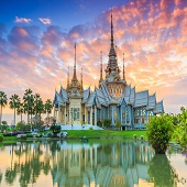 六天尊尚泰國曼谷柬埔寨暹粒-2020