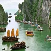 2020 珠江美食,越南下龙湾11日